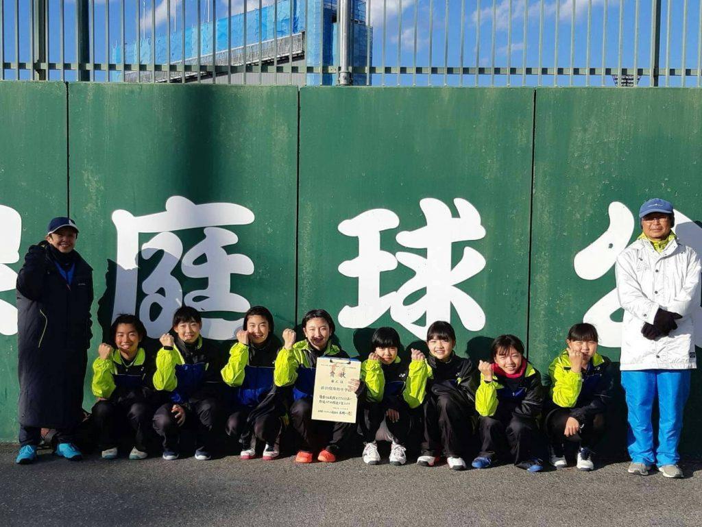 ソフトテニス県大会